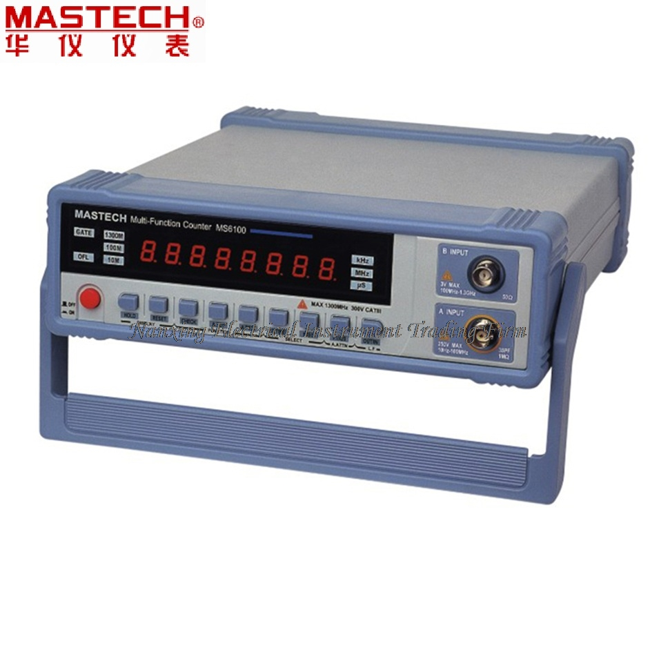 цена на FAST SHIPMENT MASTECH MS6100 intelligent multi-function frequency meter, 10MHz oscillation frequency output, high precision