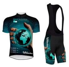 2016 Team cycling jersey MTB sports wear Bicycle clothing Tights Road bike sleeve set Triathlon