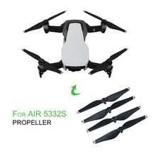 2 Pairs/Set Lightweight Easy Install Quick Release Propellers Plastic CCW/CW Props For DJI Mavic Air Drone