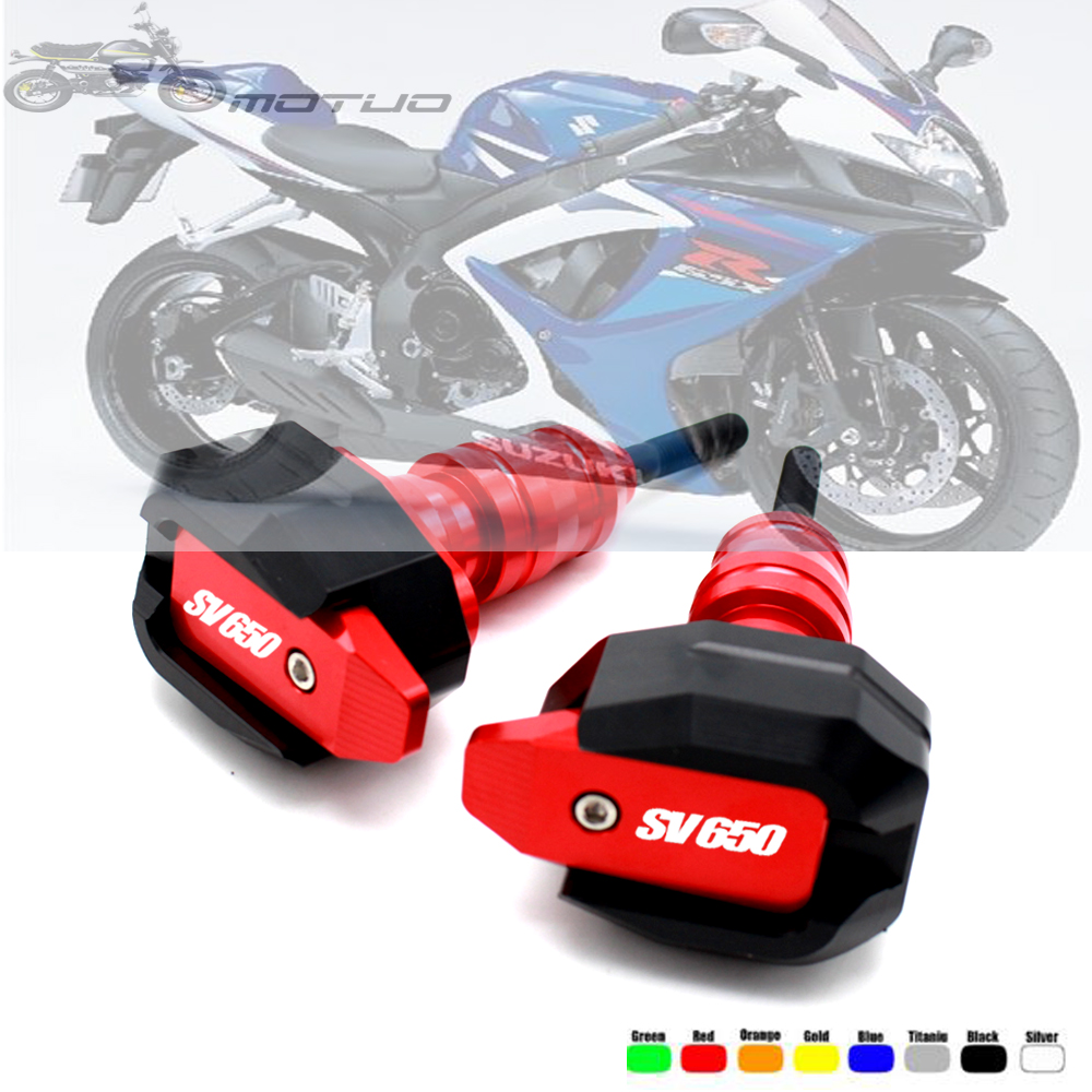 For <font><b>SUZUKI</b></font> SV650 <font><b>SV</b></font> <font><b>650</b></font> 1999-2019 <font><b>2018</b></font> 2017 Motorcycle Falling Protection Frame Slider Fairing Guard Anti Crash Pad Protector image