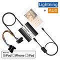 Авто iPod iPhone Автомобильный Адаптер MP3 Интерфейс Lightning 8Pin Зарядное Устройство для BMW E36 E38 E39 E46 Бизнес Профессиональный 4:3 Навигация