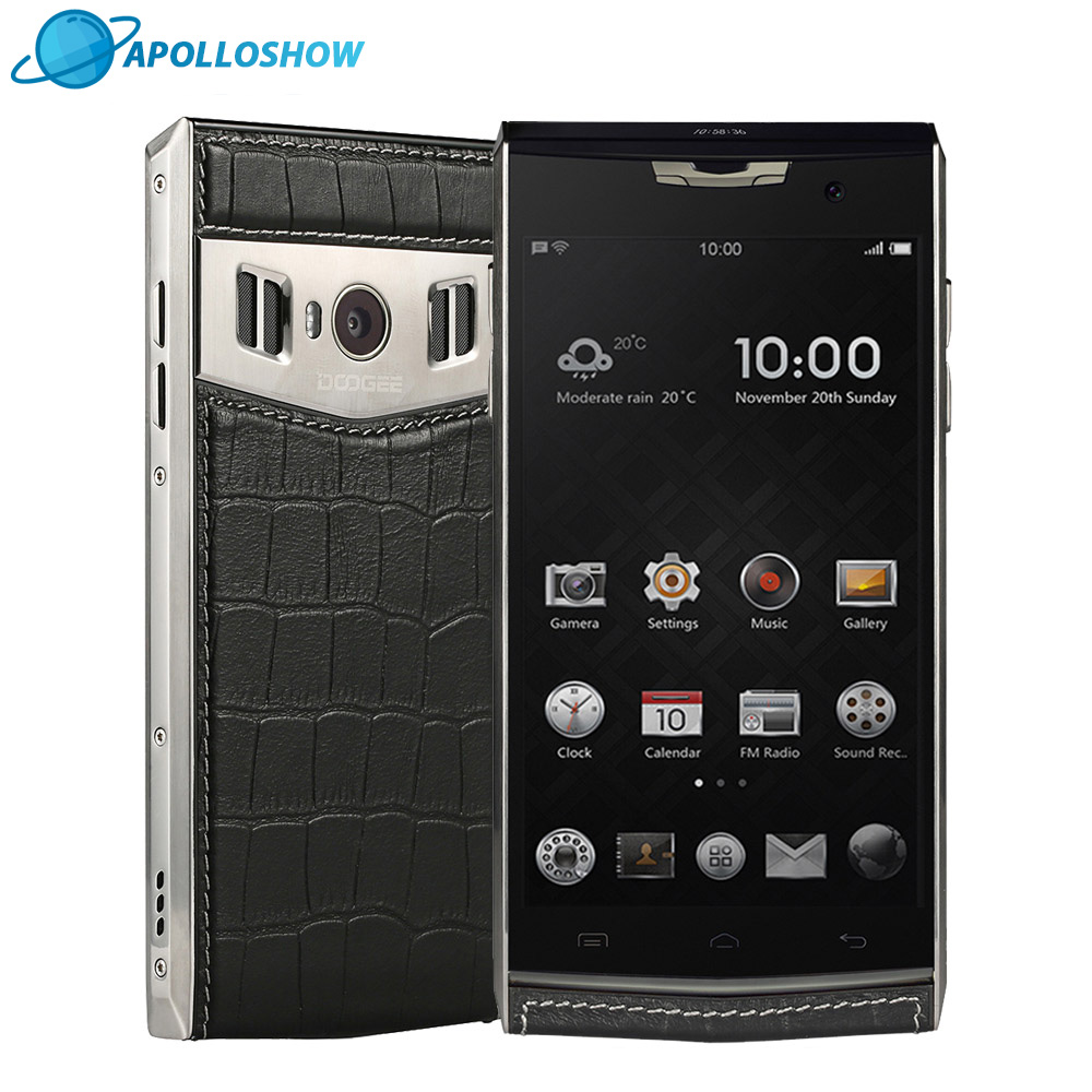Original DOOGEE T3 Dual Screen Smartphone 4 7 Inch HD 0 96Inch 3GB 32GB Android6 0