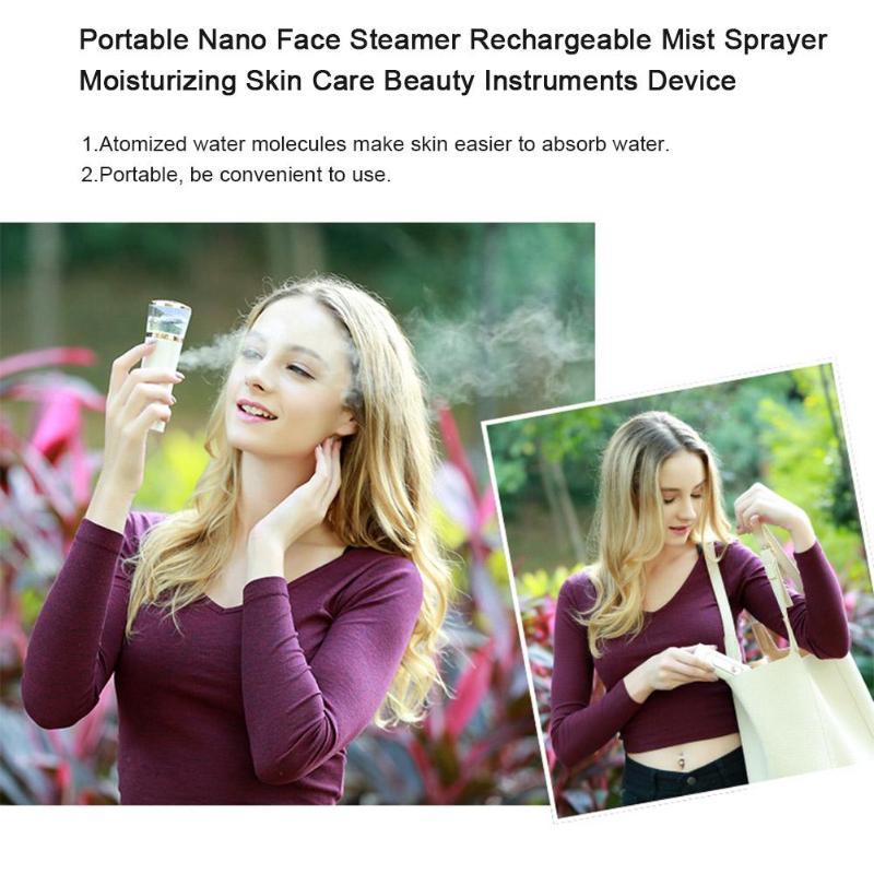 Portable STAY FRESH Facial Steamer