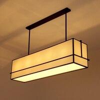 Китайский стиль деревянные подвесные светильники ресторан исследование отель инженерно новые творческие ткани в китайском стиле ZS161