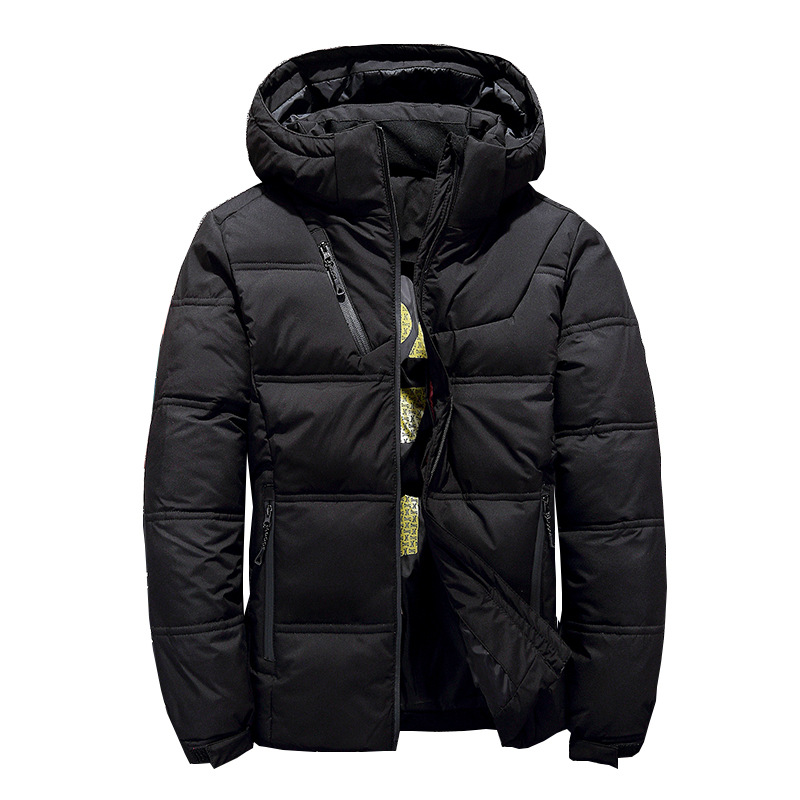 New Brand Men's Winter Hooded Duck   Down   Jackets Warm Thick Quality   Down     Coats   Male Overcoat   Down   Parka Man Clothing