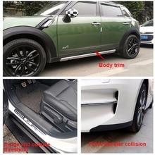 1PCS 200CM Car shape sticker Door Sill Protector Carbon Fiber Moulding Strip Trim Universal accessories