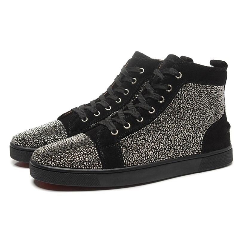 Элитный бренд со стразами мужские лоферы высокие летние кроссовки очень повышает Zapatillas Deportivas Hombre Повседневная дышащая обувь