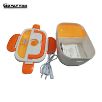 GXYAYYBB 220v portable electric lunch box food storage children food thermos bottle by PP removable food containers for home