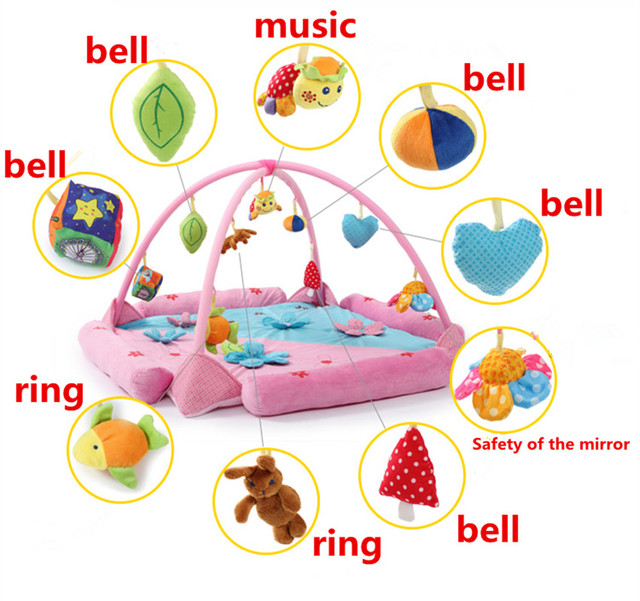 Baby blanket game Baby Activity Play Mat Baby Gym Educational ...