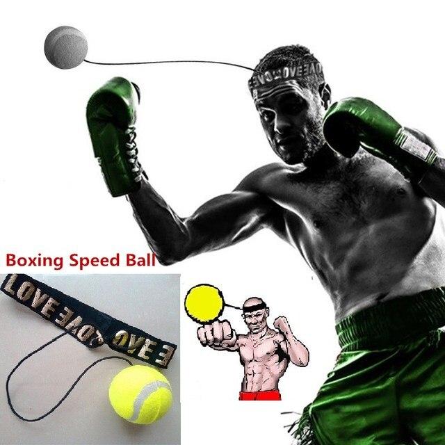 US $8.22 53% OFF Boxing Equipment Kampf baseball Boxing Trainings Zubehör lomachenko Geschwindigkeit Ball Muay Thai Trainer Schnelle Antwort Ball