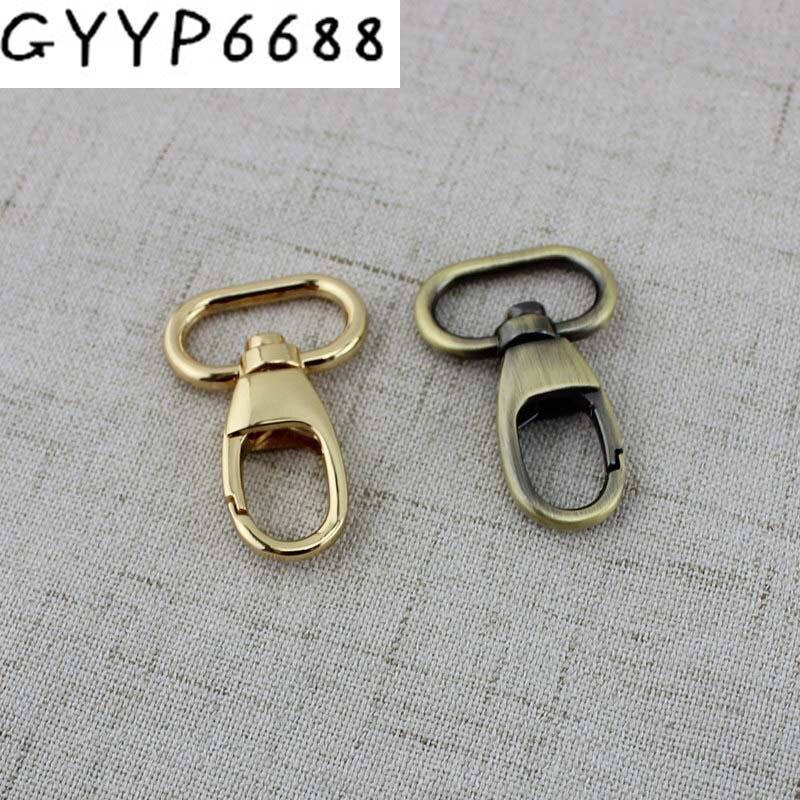 10pcs 50pcs 20mm Small Trigger Snap Hook Clasp Metal Clip Swivel Dog Leash Bags Small Handbag Purse Adjusted Strap Hook Clasp