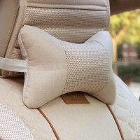 Car Headrest Neck Pillow Car Pillow Cushion Seat Kaozhen Auto Upholstery Supplies A Pair Of