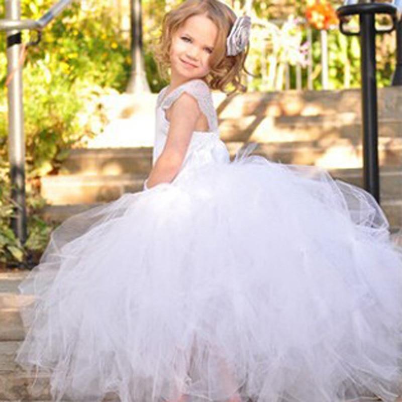 Kids baby gilrs Flower Girl Dresses Princess Party Dress S1029