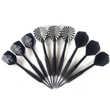 CUESOUL 3 Color 3 Pcs/Sets of Darts Professional 23g Steel Tip Dart With Nylon shafts Poly Pro flights