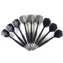 CUESOUL 3 Color 3 Pcs/Sets of Darts Professional 23g Steel Tip Dart With Nylon shafts Poly Pro flights(China)