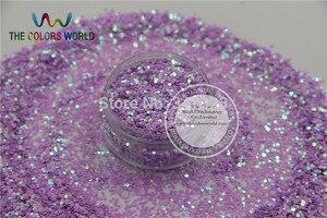 Image 3 - TCT 097 1 MM Iriserende Parelmoer kleuren Glitter heldere decoratie voor Nail design nail art en DIY