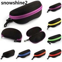 snowshine2 #3001 Portable Carabiner Eye Glasses Sunglasses Hard Case Protector Box Holder free shipping