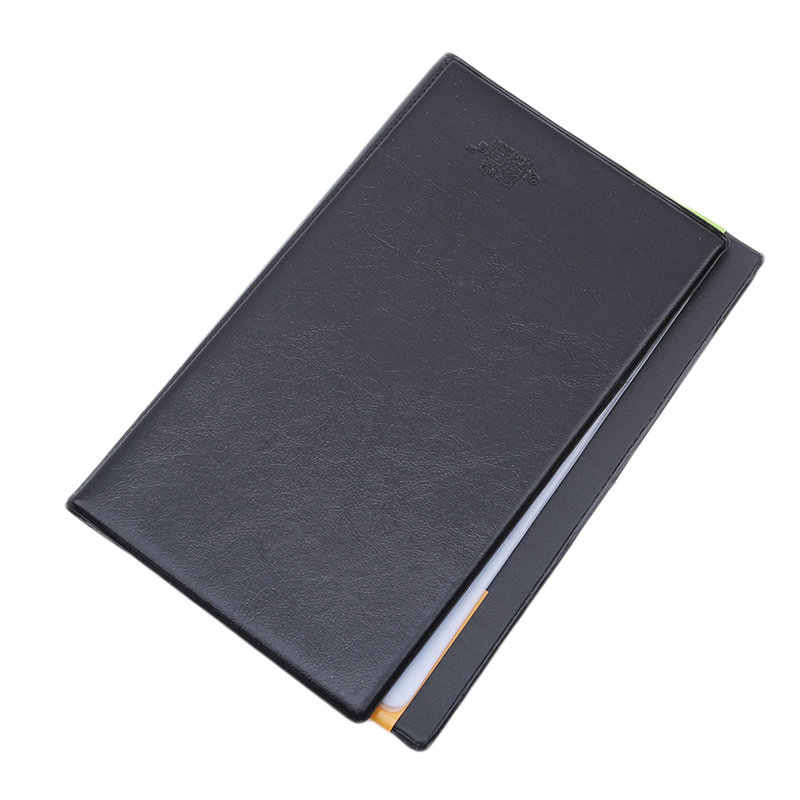 Hot Sell Creative Card Case Card Holder Black Leather 120 Business Name Card Holder Book Wallet Cover Case Pouch Folder