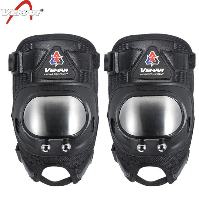 VEMAR Motorrad Schutz Kneepad Motorrad Knie Protector Motocross Racing Schutz Getriebe Motorrad Schutz Knie Brace