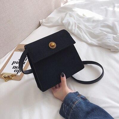 Della Semplice Bag borgogna Retro Una Spalla Casuale Selvaggio Nero colore Rosa Il Messenger 2019 Coreana Moda arancione Versione Nuova tCXwqX7