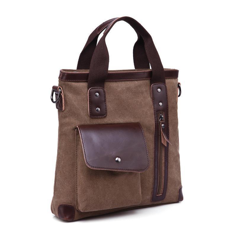 Canvas Bag Business Casual Handbag Single Shoulder Bag Women Bag k 911 outdoor canvas single shoulder bag brown