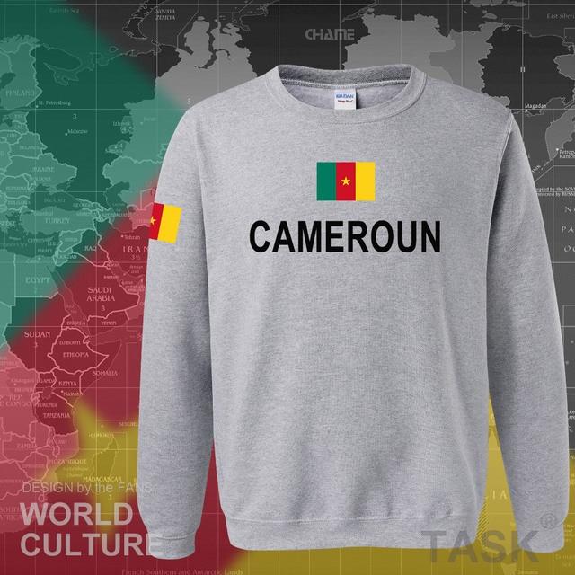 Cameroon hoodies men sweatshirt sweat new hip hop streetwear tracksuit nation footballer sporting flag CMR Cameroun Cameroonian