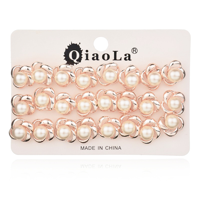 d068f6569 12 Pairs / Lot Rose Gold Plated Earring Women Cheap Price Small Cute Lovely  Stud Earrings Online Shopping India