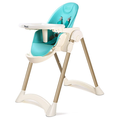2019 New Arrival Baby High Chair Highchair For Baby Adjustable Height Easy Storage Convertible 3-in-1 Feeding Chair For Infants