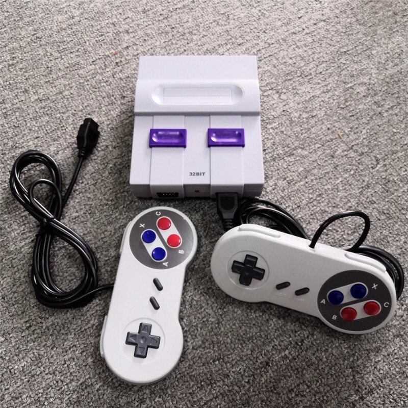 32 bits OS classique rétro vidéo TV Mini Console de jeu sortie HD 100 jeux plus TF carte inclus prise en charge charge plus de jeux