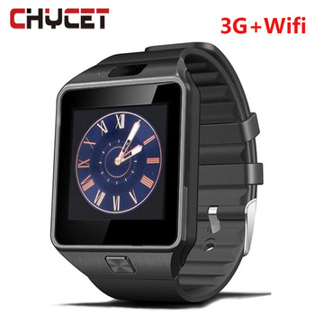 Bluetooth Smart Watch Men 3G Wifi Sim card Smartwatch Camera 4G Rom 512M Ram Smart Watch Women Pedometer Watch For Android IOS
