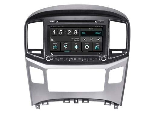 Новый автомобиль HD DVD плеер GPS Navi мультимедиа для Hyundai H1 2016 головного устройства Авторадио Стерео с мультимедиа BT map Бесплатная задняя камера