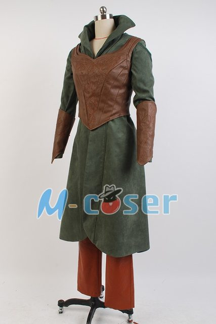 High Quality The Hobbit 2 / 3 Elf Tauriel Outfit Halloween Cosplay Costume For Adult Women full set & Online Shop High Quality The Hobbit 2 / 3 Elf Tauriel Outfit ...