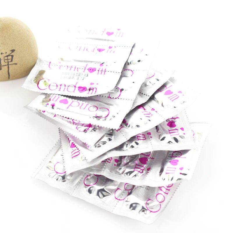 10 pièces Préservatif avec Grande Huile pour Homme Retarder Sexe Pointillé G Spot Préservatif Intime Jouet Érotique pour Hommes Sûr Contraception Préservatif Féminin