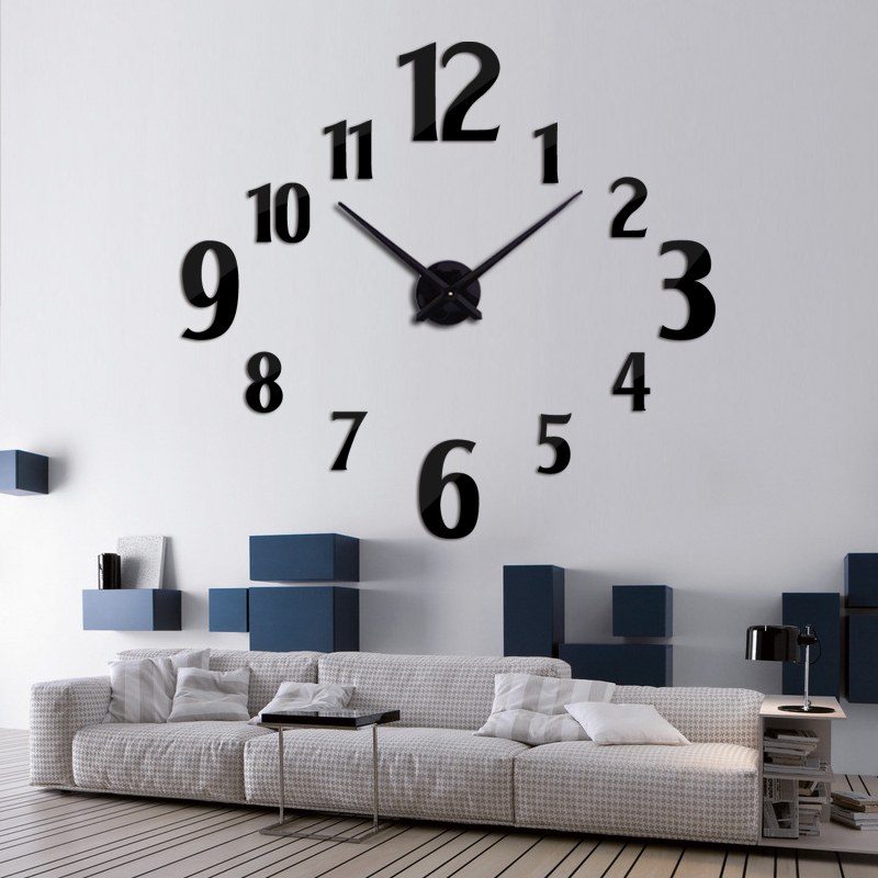 2019 νέο ρολόι τοίχου χαλαζία ρολόι - Διακόσμηση σπιτιού - Φωτογραφία 3