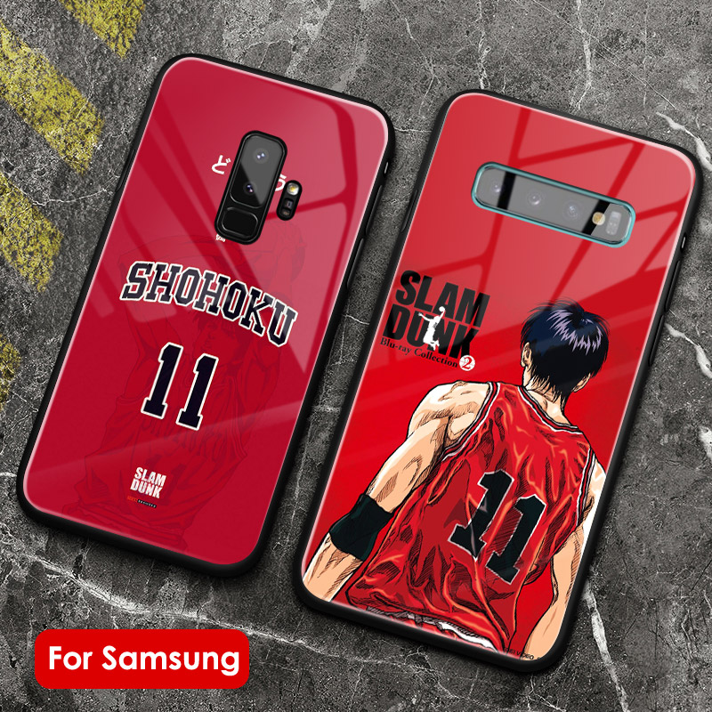 Slam dunk <font><b>anime</b></font> manga <font><b>phone</b></font> <font><b>case</b></font> shell tempered glass soft silicone For <font><b>Samsung</b></font> Galaxy S7 S8 <font><b>S9</b></font> S10e S10 <font><b>Plus</b></font> Note 8 9 10 <font><b>PLUS</b></font> image