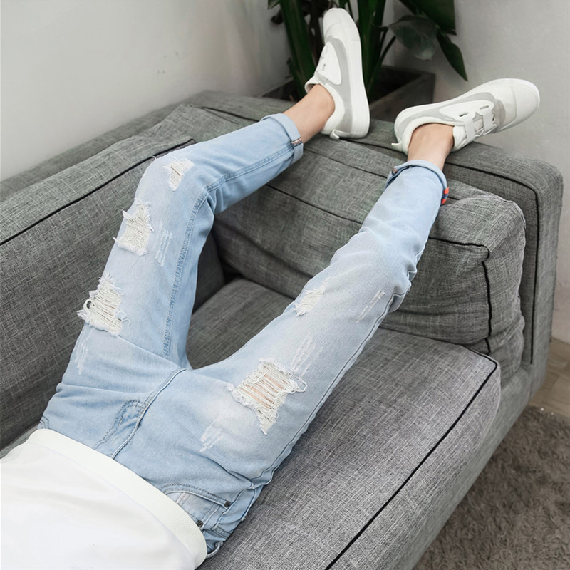 Cheap Wholesale 2019 New Autumn Winter Hot Selling Man Fashion Casual Popular Male Long Pants  MP234