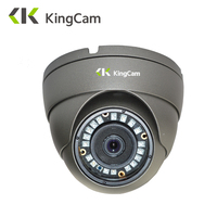 KingCam Metal Anti Vandal Laser IR LED 48V POE IP Camera 1080P 720P Security Indoor Outdoor