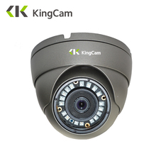 KingCam Metal Anti-vandal Laser IR LED 48V POE IP Camera 1080P 720P Security indoor Outdoor Dome CCTV ONVIF Surveillance Cameras