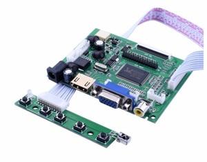 Image 4 - 7 pollici HD Display LCD Schermo Monitor Ad Alta Risoluzione Scheda di Controllo del Driver HDMI VGA Per Lattepanda Raspberry Pi Banana Pi