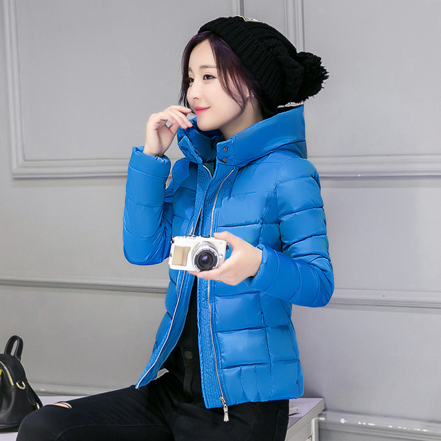 2016 New Fashion Down & Parkas Warm Winter Coat Women Light Thick Winter Plus Size Hooded Jacket Female Femme Outerwear JN806