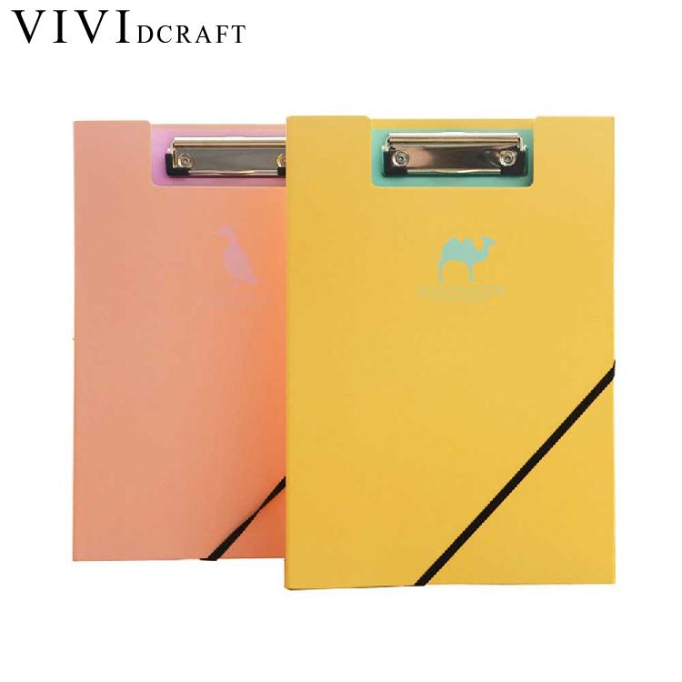 Vividcraft Practical Clip File Folder A4 Document Bag for Office Supplies Document Organizer Folder Carpeta Pasta Escolar Menu canvas men handbag a4 file folder document bag business briefcase paper storage organizer bag stationery school student gift