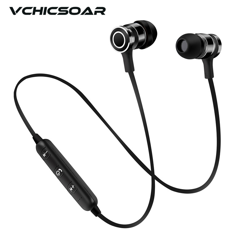 Vchicsoar S9 Wireless Headphone Headset Bluetooth Earphone Fone de ouvido For Phone Neckband Ecouteur Auriculares Bluetooth V4.1 bluetooth earphone wireless music headphone car kit handsfree headset phone earbud fone de ouvido with mic remax rb t9