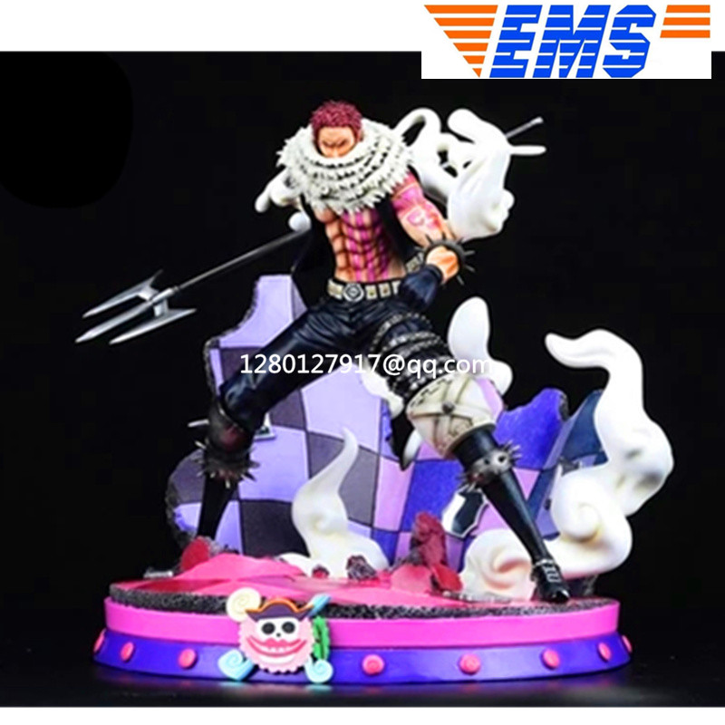 Statue <font><b>One</b></font> <font><b>Piece</b></font> Charlotte <font><b>Katakuri</b></font> Full-Length Portrait Big Mom Pirates Dessert Three Star Limit Bust GK Action <font><b>Figure</b></font> Toy image