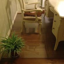 2018 new transparent wood floor protection mat PVC plastic floor carpet computer chair mats protectors plastic round carpet rug все цены