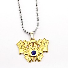 Hot Game LOL Necklace League 7 Rank Pendant 2017 Fashion Legends Necklaces Gift Jewelry Accessories