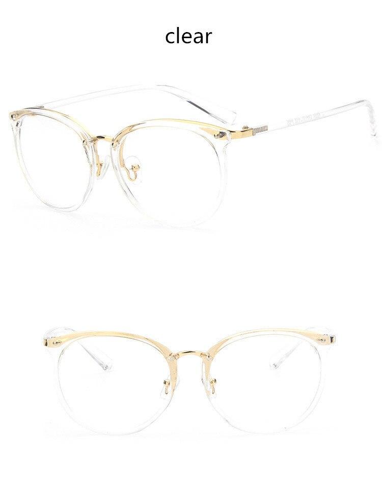 c49ced785 ٩(^‿^)۶العلامة التجارية تصميم إطارات نظارات إطارات النظارات للنساء ...