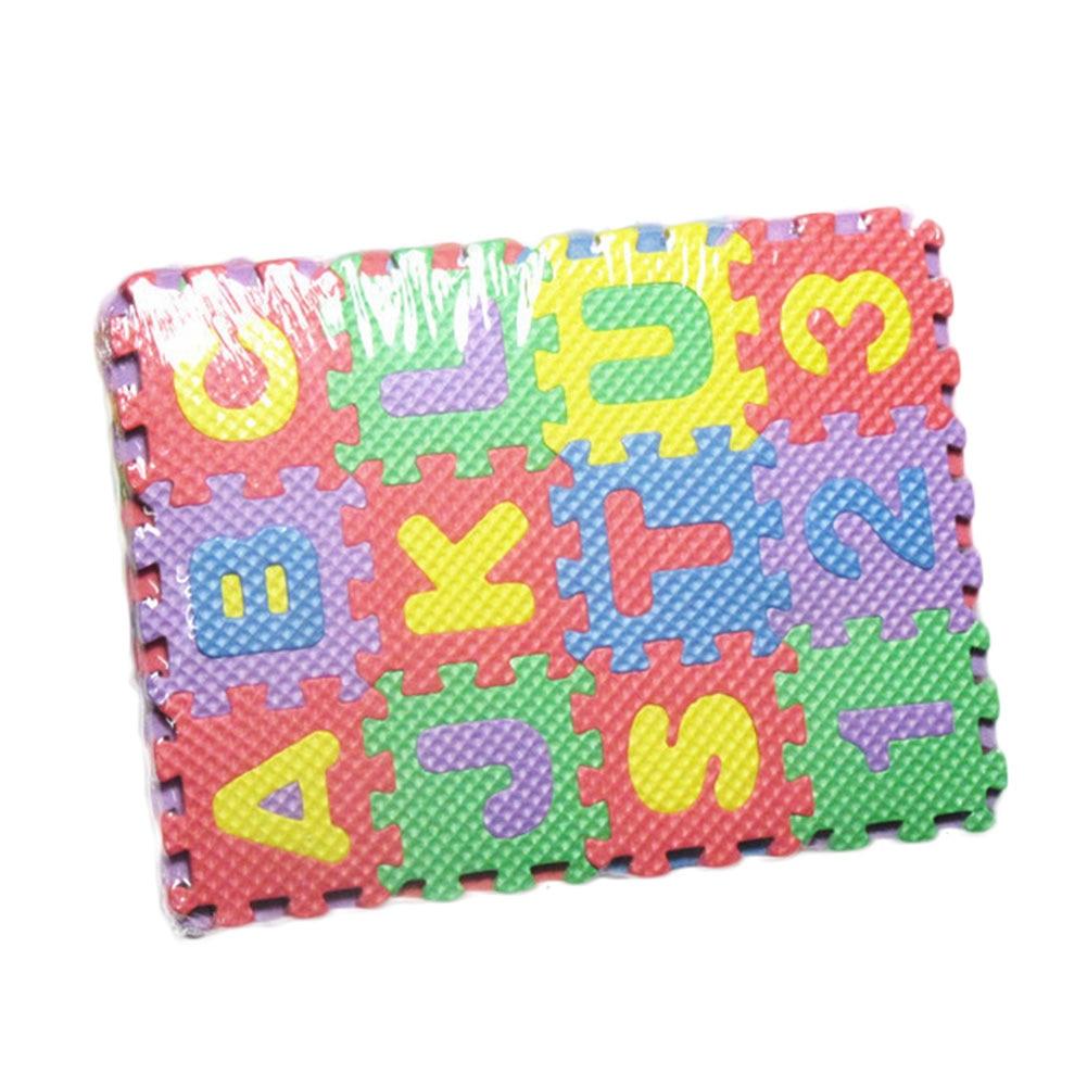 US $1 5 |36 Pcs/Lot 3D Block Mini EVA Foam Alphabet Letters Numbers Floor  Soft Baby Mat Kids Educational Toys Random Style-in Blocks from Toys &