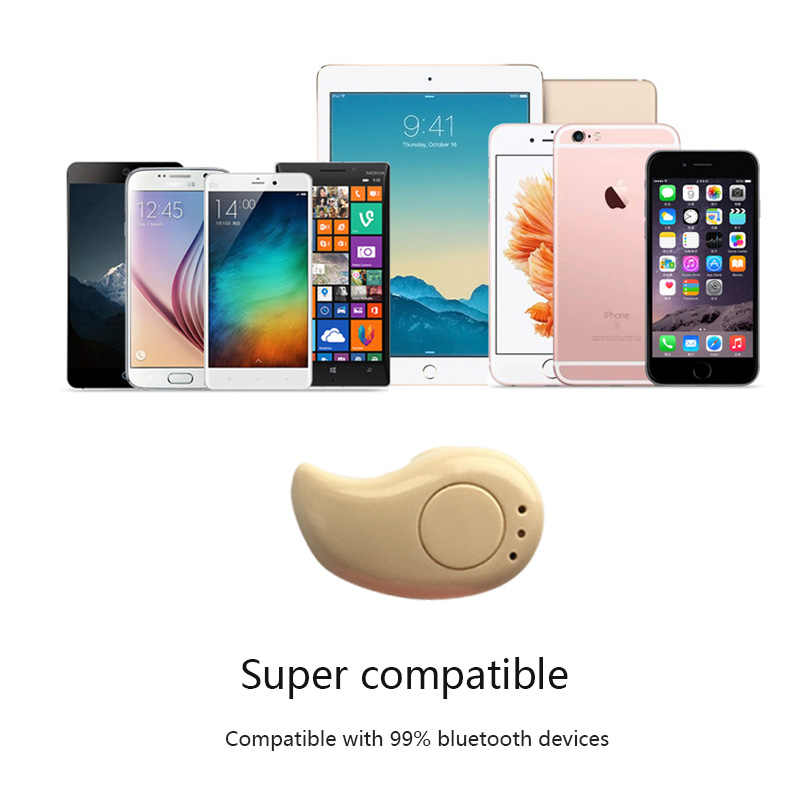 Bezprzewodowe słuchawki Bluetooth S530 zestaw głośnomówiący Bluetooth słuchawki minisłuchawki słuchawki douszne stereo słuchawki do iPhona 6/6 S/7 Xiaomi