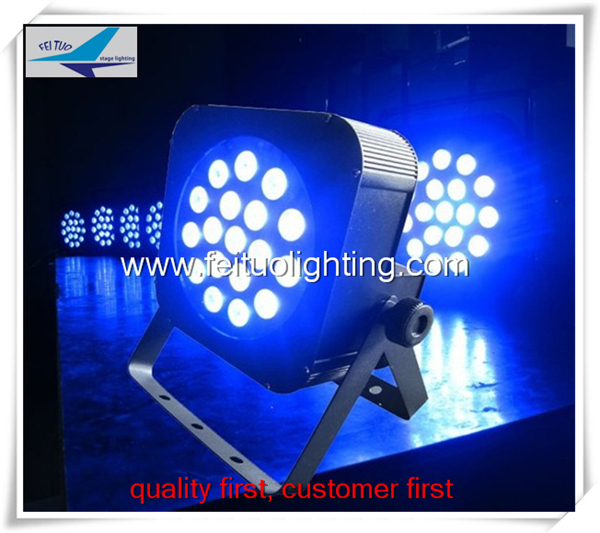 6lot DJ Par can wash par led 18x3 dmx512 led par light slim 18x10w led par