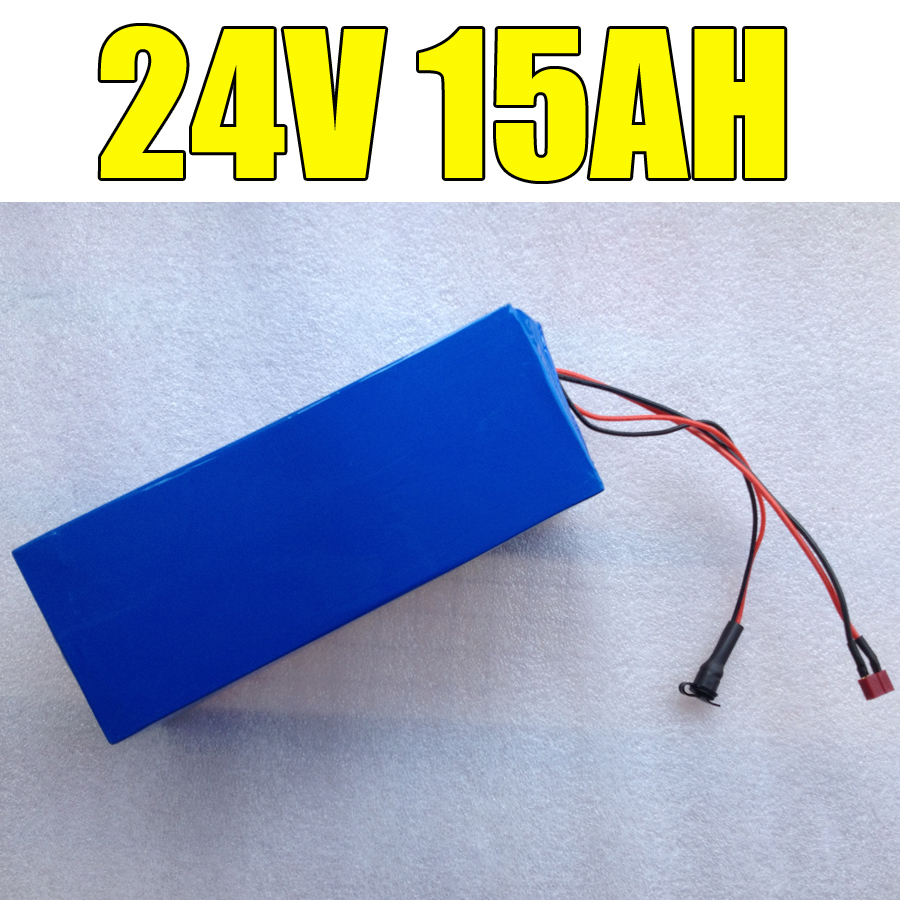 Brand 24v 15ah battery pack lithium 24v 350w e bike li-ion 24v lithium bms electric bike battery 24v 15ah 250w motor +2A charger